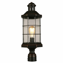 "Eglo San Mateo Creek 22"" Outdoor Post Lighting - Bronze 202874A"