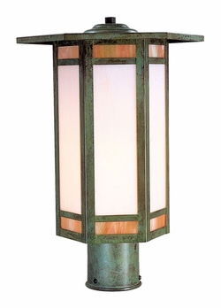 "Etoile 15.5"" Outdoor Post Light By Arroyo Craftsman"