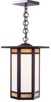 "Etoile 17.5"" Outdoor Pendant Light By Arroyo Craftsman"