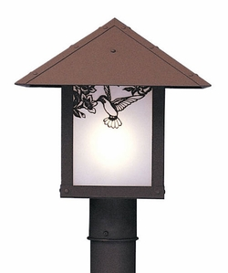 "Evergreen 12"" Outdoor Lamp Post By Arroyo Craftsman"