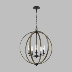 Feiss Allier Outdoor Chandelier OLF3294-5WOW-AF