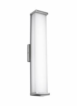 """Feiss Altron 24"""" Outdoor Wall Sconce Lighting WB1864PST-LED"""