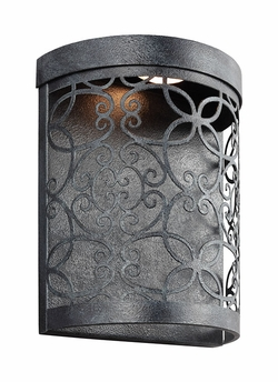 """Feiss Arramore 10.5"""" Outdoor Wall Lighting Fixture WB1814DWZ-LED"""