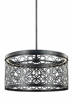 """Feiss Arramore 9.625"""" Outdoor Hanging Lighting F3097/1DWZ-LED"""