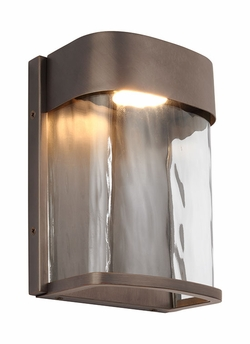 "Feiss Bennie 8"" Bronze Exterior Light Sconce OL14100ANBZ-LED"