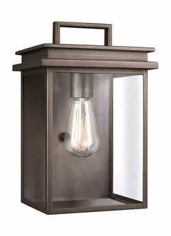"Feiss Chappman 12"" Outdoor Wall Mounted Light OL13601ANBZ"