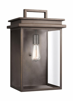 "Feiss Glenview 18.5"" Outdoor Wall Light OL13603ANBZ"