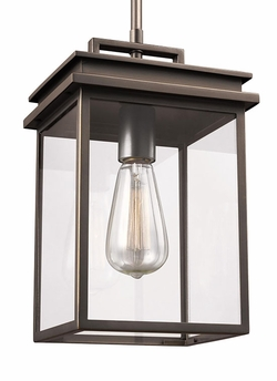 Feiss Glenview Outdoor Hanging Light OL13609ANBZ