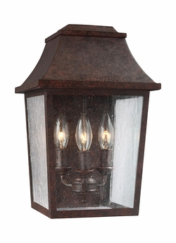 "Feiss Estes 14.25"" Outdoor Wall Lantern OL11901PCR"