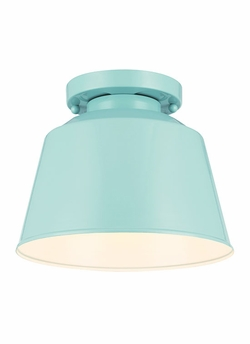 Feiss Freemont Exterior Ceiling Light - Blue OL15013SHBL