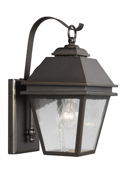 "Feiss Herald 13"" Outdoor Wall Lighting OL13500ANBZ"