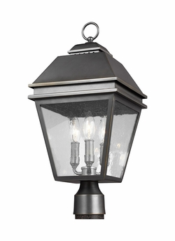Feiss Herald Exterior Post Lamp OL13507ANBZ