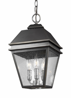 Feiss Herald Outdoor Hanging Light Fixture OL13509ANBZ