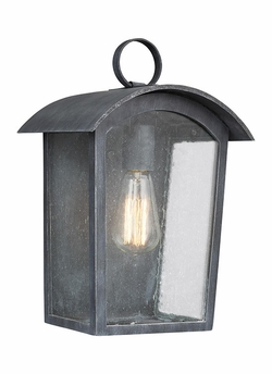 "Feiss Hodges 13.75"" Outdoor Lighting Sconce OL13301ABLK"