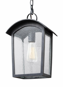Feiss Hodges Outdoor Pendant Lighting OL13309ABLK