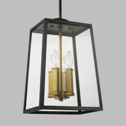 Feiss Lindbergh Outdoor Pendant Lighting OL14505ANBZ-PBB