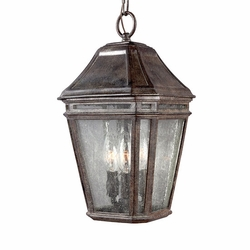 "Feiss Londontowne 15"" Chestnut Outdoor Pendant Lamp OL11309WCT"