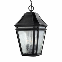 "Feiss Londontowne 17.25"" Black Outdoor Pendant OL11311BK"