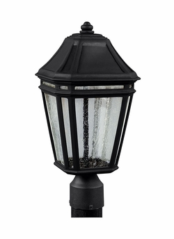 "Feiss Londontowne 17"" Black LED Post Light Fixture OL11307BK-LED"