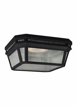 "Feiss Londontowne 5.125"" Black Outdoor Ceiling Lighting OL11313BK"