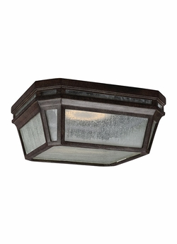 "Feiss Londontowne 5.125"" Chestnut LED Outdoor Ceiling Light OL11313WCT-LED"