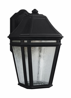 "Feiss Londontowne Black LED 13.875"" Outdoor Wall Lighting Fixture OL11301BK-LED"