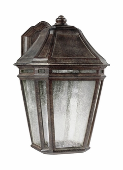 "Feiss Londontowne Chestnut LED 13.875"" Outdoor Wall Lantern OL11301WCT-LED"