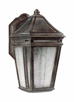 "Feiss Londontowne Chestnut LED 16"" Outdoor Wall Mounted Light OL11302WCT-LED"