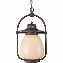 Feiss Mc Coy Fluorescent Outdoor Hanging Light - Bronze OLPL7411GBZ