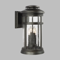 "Feiss Newport 19.8"" Outdoor Wall Lantern OL14303ANBZ"