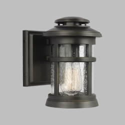"Feiss Newport 9"" Exterior Wall Sconce OL14300ANBZ"