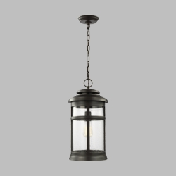 Feiss Newport Outdoor Hanging Lantern OL14309ANBZ