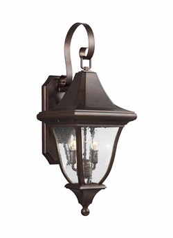 "Feiss Oakmont 26.5"" Outdoor Lighting Sconce OL13101PTBZ"