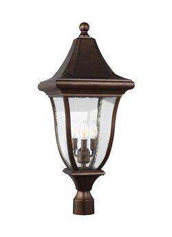 Feiss Oakmont Post Light Fixture OL13107PTBZ