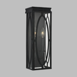 """Feiss Patrice 17.25"""" Outdoor Wall Sconce OL14311DWZ"""