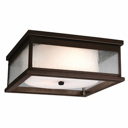 Feiss Pediment Copper Outdoor Flush Mount Light OL11113DAC