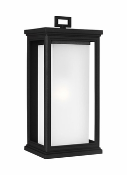 "Feiss Roscoe 18.125"" Outdoor Wall Lantern OL12902TXB"
