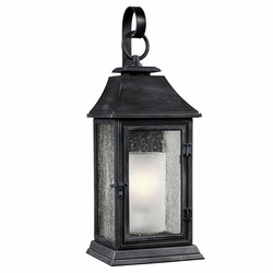 "Feiss Shepherd 25.625"" Zinc Exterior Wall Lighting OL10602DWZ"