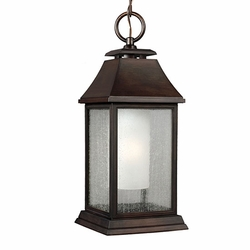 Feiss Shepherd Copper Outdoor Hanging Light Fixture OL10611HTCP