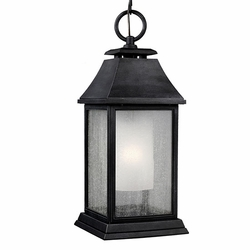 Feiss Shepherd Zinc Outdoor Hanging Light Fixture OL10611DWZ