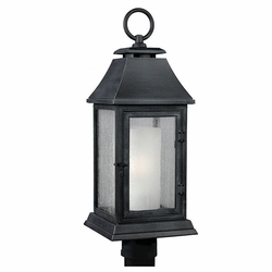 Feiss Shepherd Zinc Outdoor Lamp Post OL10608DWZ