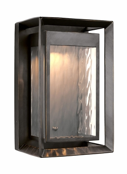"Feiss Urbandale Bronze 16.25"" Outdoor Wall Sconce OL13702ANBZ-LED"