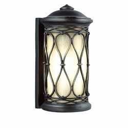 "Feiss Wellfleet 12.625"" Outdoor Wall Lantern OL10900ABR"