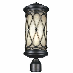 Feiss Wellfleet Exterior Post Light OL10907ABR