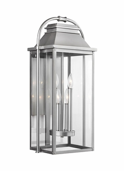 "Feiss Wellsworth 27"" Exterior Wall Lighting OL13202PBS"