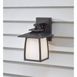 "Feiss Wright House 10"" Outdoor Wall Lighting - OL8500"