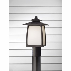"""Feiss Wright House 14"""" Outdoor Post Lantern - OL8507"""