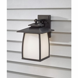 "Feiss Wright House 14"" Outdoor Wall Sconce Lighting - OL8502"