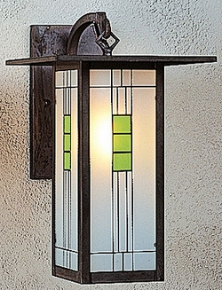 "Franklin 15.125"" Exterior Wall Sconce By Arroyo Craftsman"