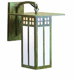 """Glasgow 15.125"""" Outdoor Wall Sconce By Arroyo Craftsman"""